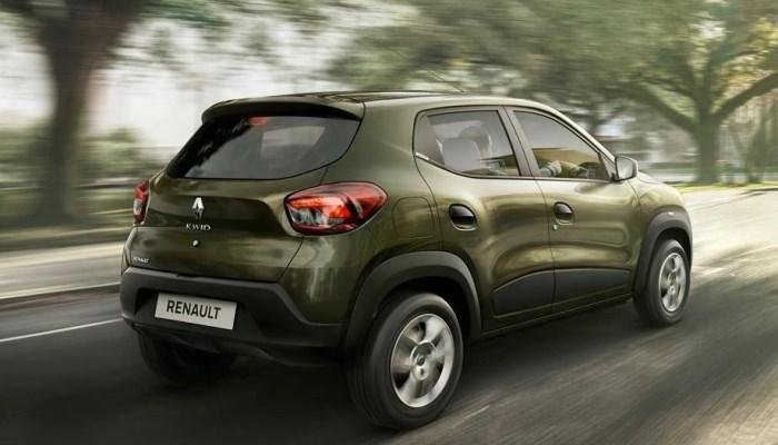 Renault Kwid вид сзади
