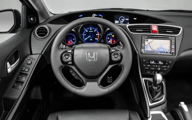 салон автомобиля хонда цивик