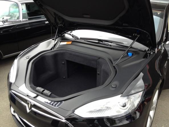 tesla model s багажник