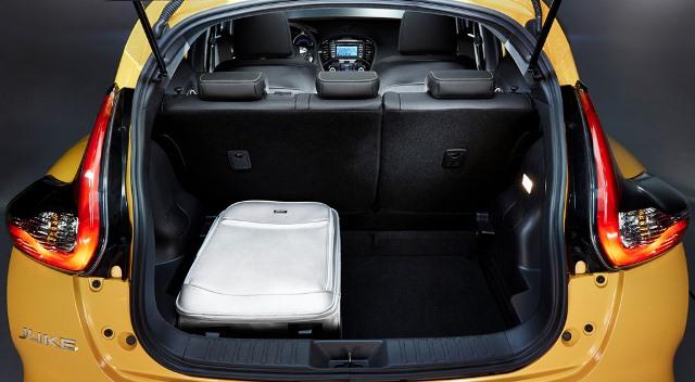 ниссан жук 2016 фото багажника